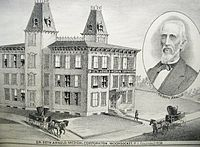 Woonsocket Medical Corporation, founded in 1839 by Dr. Seth Arnold