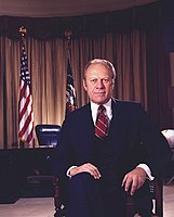 Gerald Ford of Michigan, 38th president of the United States