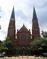 The Basilica of Sainte Anne de Détroit is the second-oldest continuously operating Roman Catholic parish in the country.