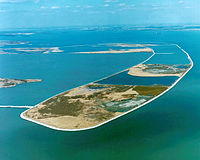 The Pointe Mouillee State Game Area, one of the 221 state game and wildlife areas in Michigan. It encompasses 7,483 acres of hunting, recreational, and protected wildlife and wetland areas at the mouth of the Huron River at Lake Erie, as well as smaller outlying areas within the Detroit River.