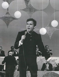Vinton performing on The Ed Sullivan Show in 1969