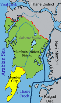 Mumbai consists of two revenue districts.