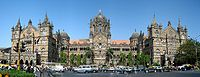 The Chhatrapati Shivaji Terminus, formerly known as Victoria Terminus, is the headquarters of the Central Railway and a UNESCO World Heritage Site.