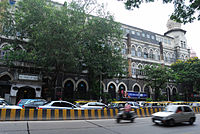 The Times of India's first office is opposite the Chhatrapati Shivaji Terminus where it was founded.