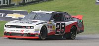 J. J. Yeley's 5th place car at Road America