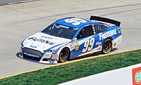 Edwards during the 2013 STP Gas Booster 500