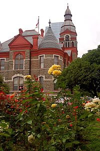 The Pulaski County Courthouse is located in Little Rock
