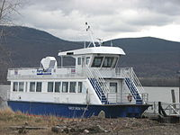 This New York Waterway ferry named West New York is not used on the routes which serve the town.