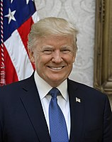 Donald Trump, 45th President of the United States (2017–2021)