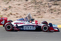Wheldon practicing for the 2010 Indy Grand Prix of Sonoma