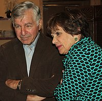 Dukakis with his wife Kitty in 2015