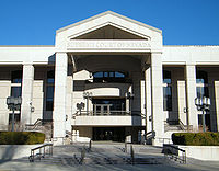 The courthouse of the Supreme Court of Nevada