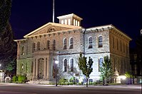 Carson City Mint in Carson City. Carson City is an independent city and the capital of Nevada.