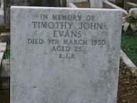 Capital punishment was abolished in the United Kingdom in part because of the case of Timothy Evans, an innocent man who was hanged in 1950 after being wrongfully convicted of two murders that had been committed by his neighbour.