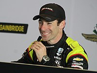 Simon Pagenaud is a three-time winner of the Grand Prix of Indianapolis.