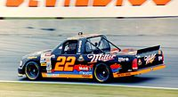 Wallace's only Truck Series start was at Nazareth Speedway in 1996