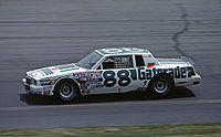 No. 88 Rookie of the Year racecar (1984)