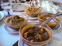 Pork vindaloo is a popular Goan curry dish in the state and around the world.