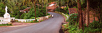 Most of Goa is well connected by roads.