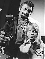 Foster with Rod Serling in the television series Ironside in 1972