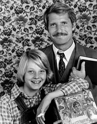 Foster with Christopher Connelly in a publicity photo for Paper Moon (1974), one of her first starring roles