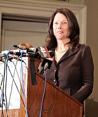 Kathleen Zellner, pictured in 2013. Zellner persuaded Eyler to allow her to publicly release his confession after his death