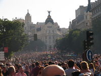 Europride in Madrid. In 2017 a summit on LGBTI human rights took place at the same time as World Pride celebrations.