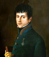 Rafael del Riego led the anti-absolutist uprising that started the Trienio Liberal, part of the Revolutions of 1820 in Europe. When absolutists took power again, he was executed.