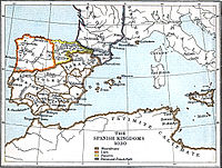 In 1030, the Kingdom of Navarre controlled the Count of Aragon and the Count of Castile, who later became major kingdoms of its time.