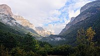 Ordesa y Monte Perdido National Park in the Pyrenees, a World Heritage Site