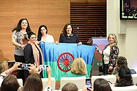 Celebration of the Romani Day on 24 May 2018 in Madrid