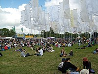 Jazz World field on the opening Wednesday afternoon of the festival
