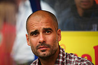 Current City manager Pep Guardiola