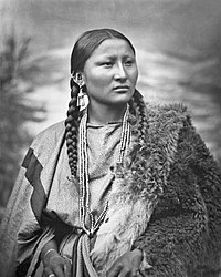 Pretty Nose at Fort Keogh, 1879