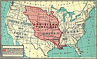 """From Frank Bond, """"Louisiana"""" and the Louisiana Purchase. Government Printing Office, 1912 Map No. 4."""