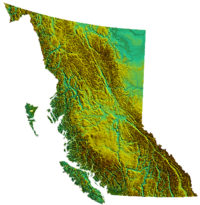 British Columbia's geography is epitomized by the variety and intensity of its physical relief, which has defined patterns of settlement and industry since colonization.