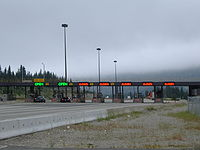 The Coquihalla Highway was one of the legacies of the Expo 86 world's fair, though creation of the toll highway sparked controversy. Tolling was removed in 2008.