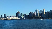 Canada Place in Downtown Vancouver