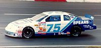 Harvick's 1997 Winston West car