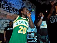 """Rapper Wale responded to """"False Prophets"""" with a track called """"Groundhog Day"""""""