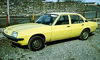 The Cavalier Mark I, in production from 1975 to 1981