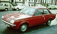 The Vauxhall Chevette, in production from 1975 to 1984