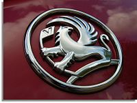 Vauxhall Motors' logo from the 1990s to 2008