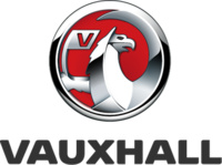 Vauxhall Motors' logo from 2008 to 2020.