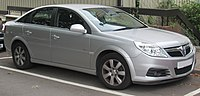 The Vauxhall Vectra Mark II, in production from 2002 to 2008