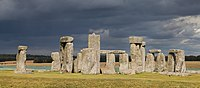 Stonehenge in the United Kingdom (Late Neolithic from 3000 to 2000 BC).