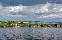 The Volga, which flows from Central Russia and into the Caspian Sea is the longest river in Europe.