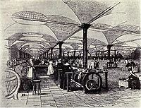 Marshall's Temple Works (1840), the Industrial Revolution started in Great Britain