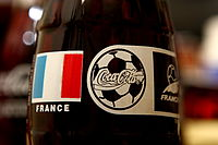 Coca-Cola was one of the sponsors of FIFA World Cup 1998.