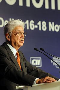 Azim Premji, CEO of India's 3rd largest IT company Wipro Technologies and the 5th richest man in India with an estimated fortune of US$17.1 billion
